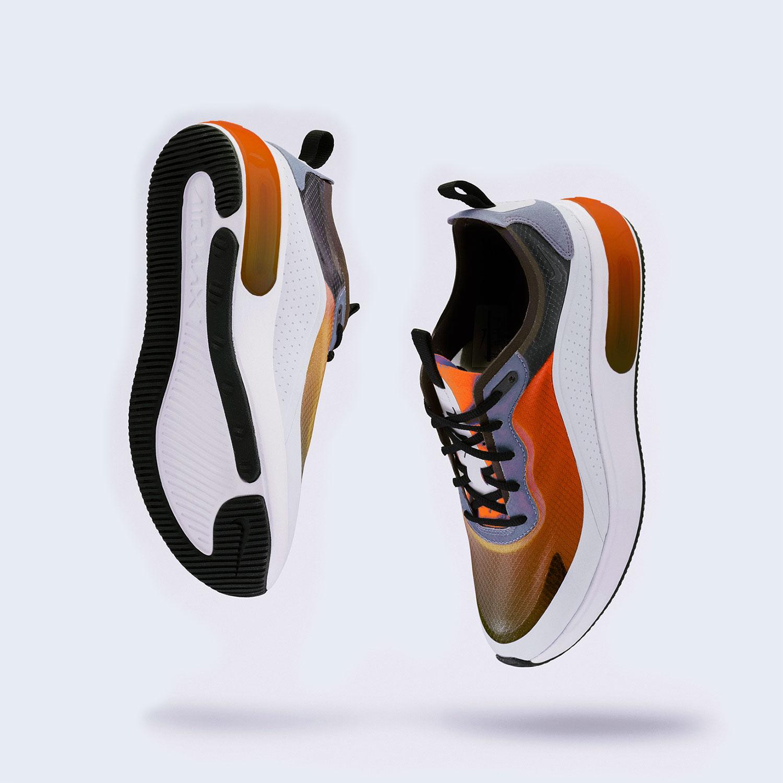 DNK Orange Sports Shoes