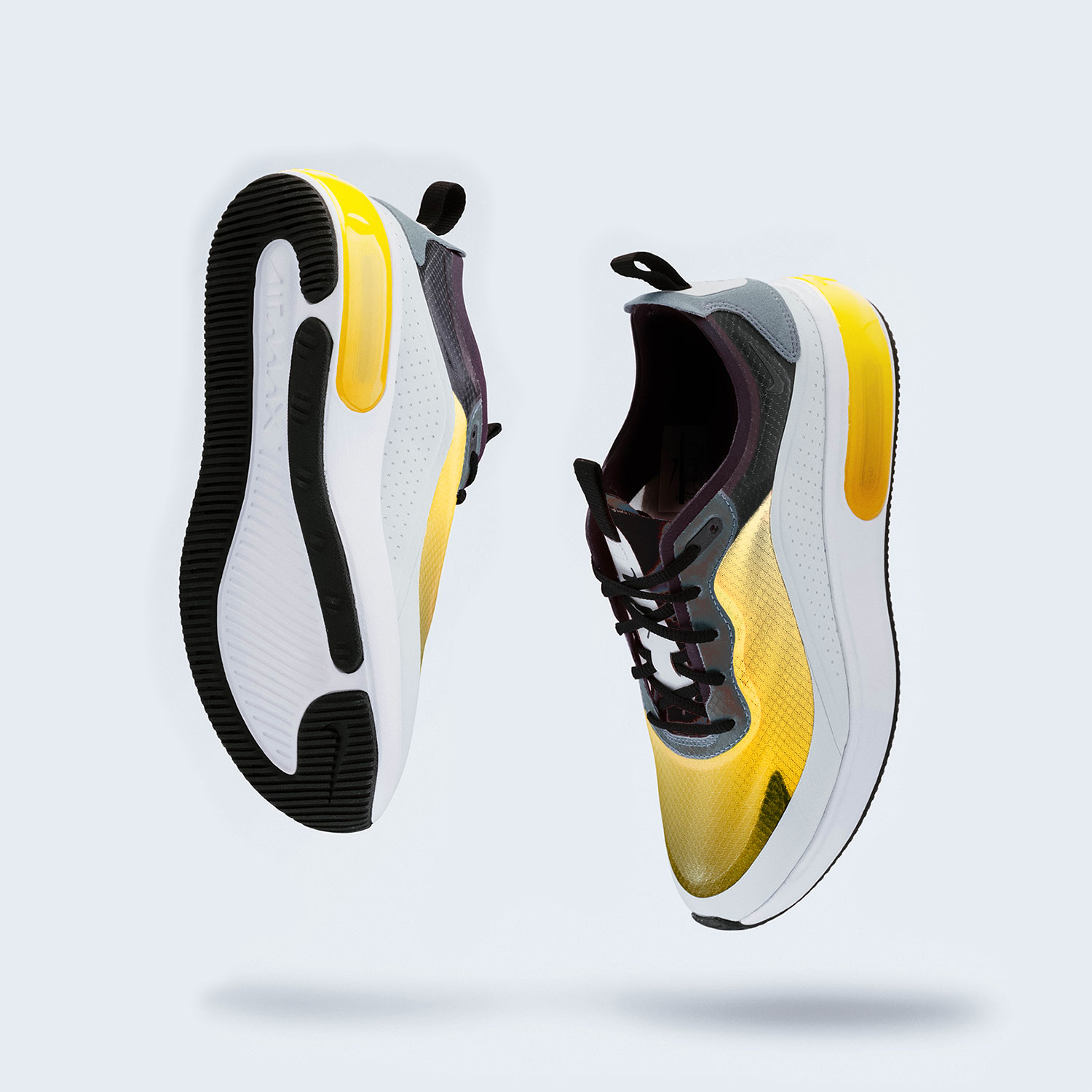 DNK Yellow Sports Shoes