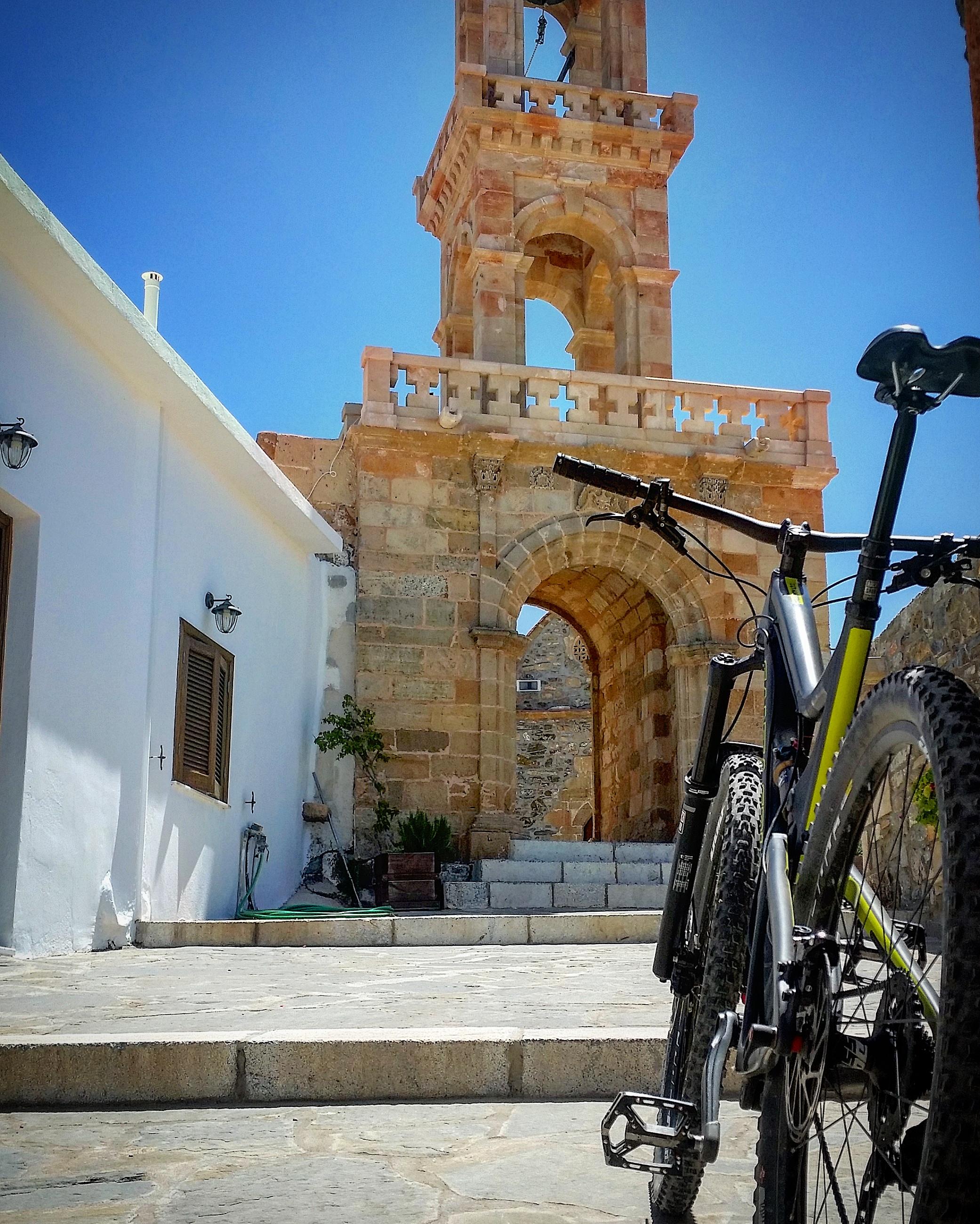 mountain biking Rhodes