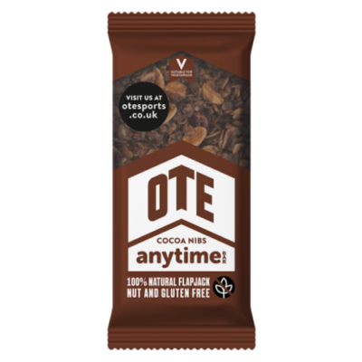 OTE Sports Cocoa Nibs Anytime Bar