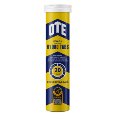 OTE Sports Lemon Hydro Tabs