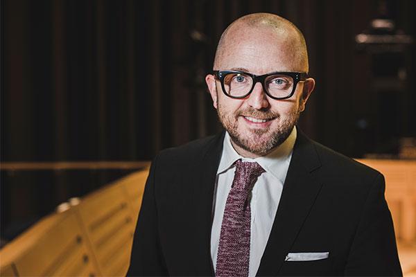 Tim Rhys Evans, Director of Music / Kirsten McTernan
