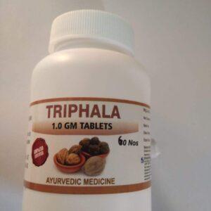 Samraksha Triphala 1gm Tablets