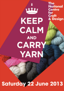 Keep Calm and Carry Yarn, Part 1
