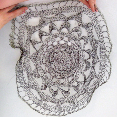 Anna Krystyna Casey's crochetathon