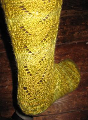 Holey socks!