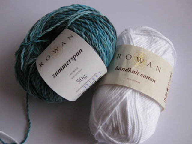 Summerspun & Handknit Cotton yarn from Rowan Yarns