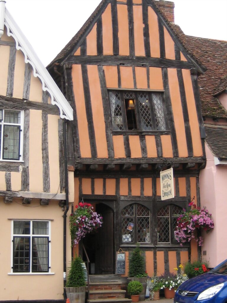 The crooked house, Lavenham, Suffolk