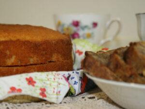 Vintage Crochet and Afternoon Tea