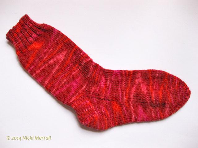 Jupiter Galaxy sock