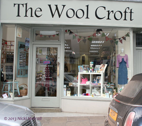 Some of my favourite yarn shops from around the UK