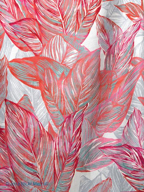 Printed fabric by Maya Dunn