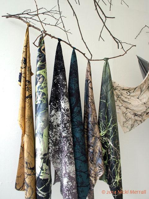 Printed fabric by Robyn Dark