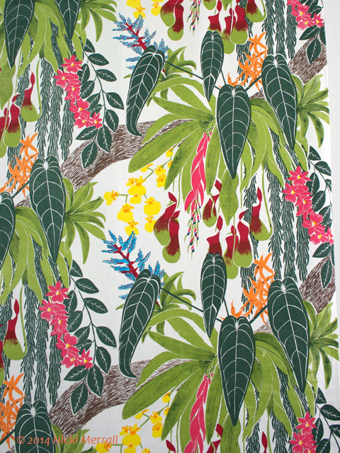 A flair for printed textiles