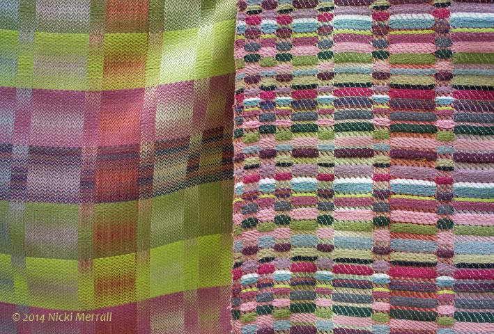 Woven fabrics by Helena Rowley