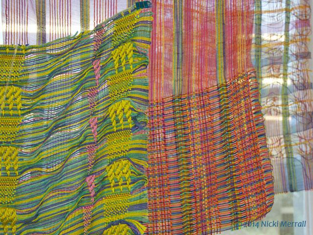 Woven fabrics by Lauren Hart