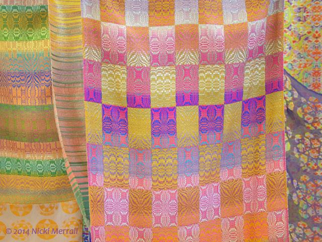 Woven fabrics by Nicola Adams