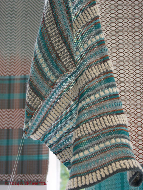 Woven fabrics by Poppy Peterson