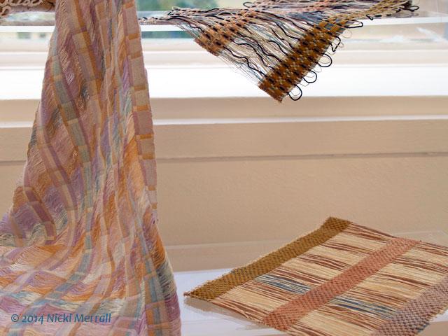 Woven fabrics by Ruth Hepburn