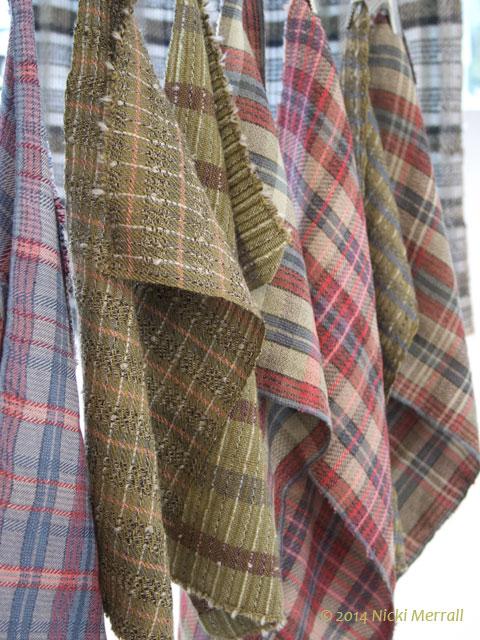 Woven fabrics by Susanah Hickman