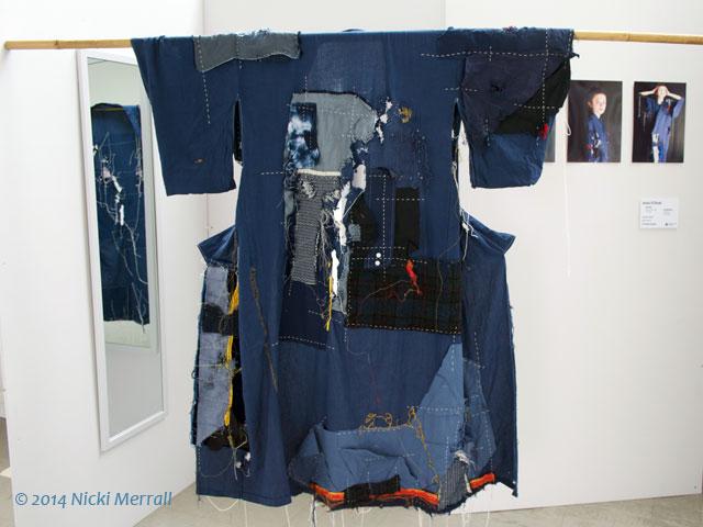 Patchwork kimono by Jessica ES Broad