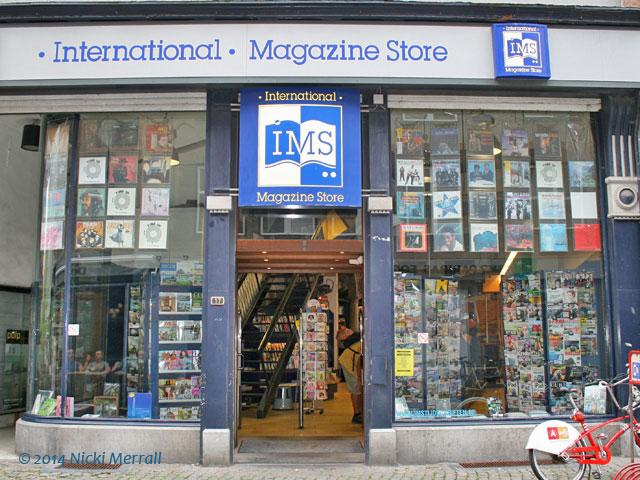 International Magazine Store, Antwerp