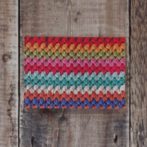 Granny Stripes greeting card