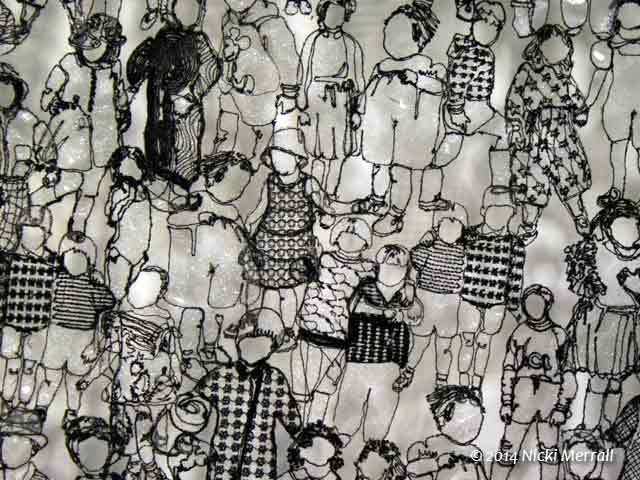 Wall hanging by Jo Beattie