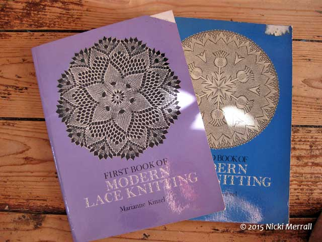 Knitted Lace Books from The Big Textile Show, 2015