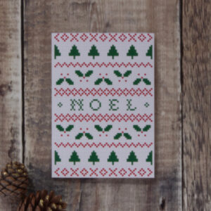 Noel greeting card