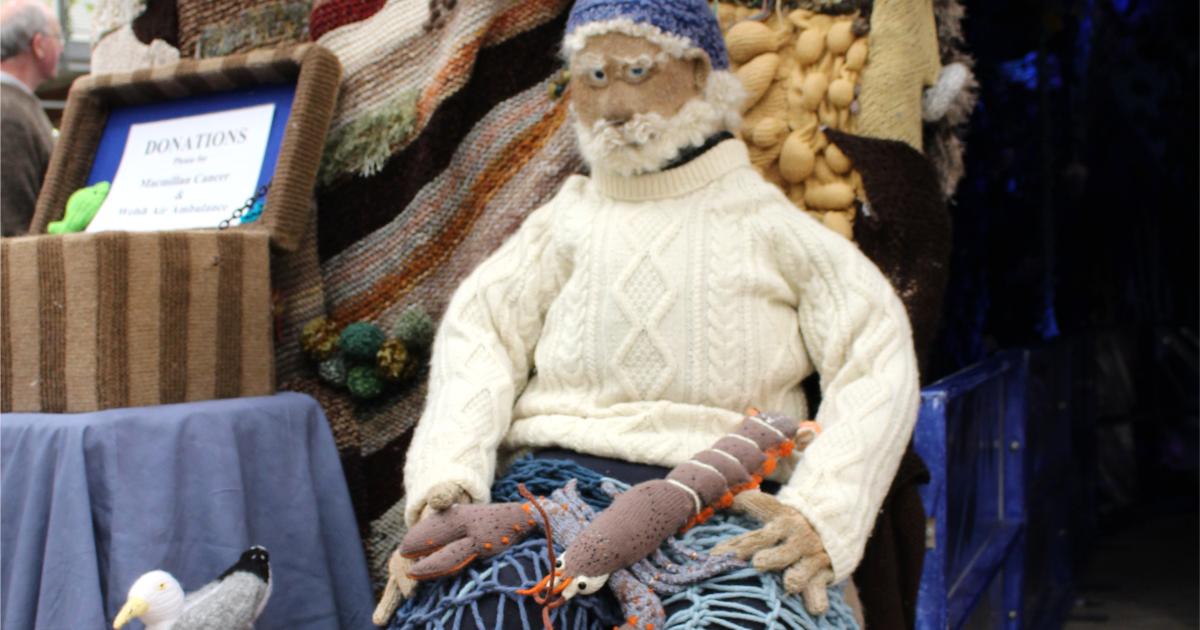 Magical knitting at Wonderwool Wales