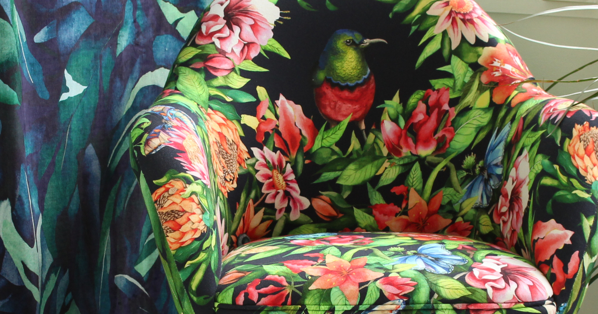 Inspirational textiles: Printed textiles at the Arts Degree Show