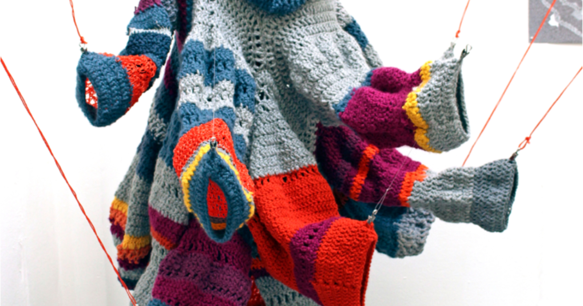 Read more about the article Inspirational textiles: Multi-media textiles at the Arts Degree Show