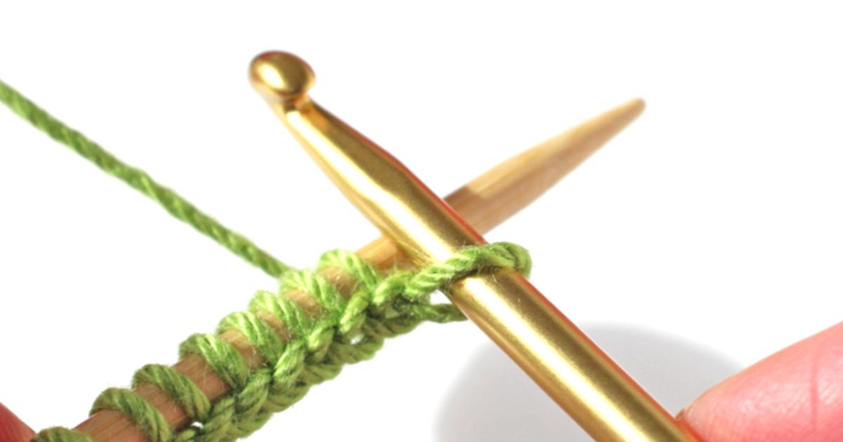 Crochet cast-on method – a right-handed knitting tutorial