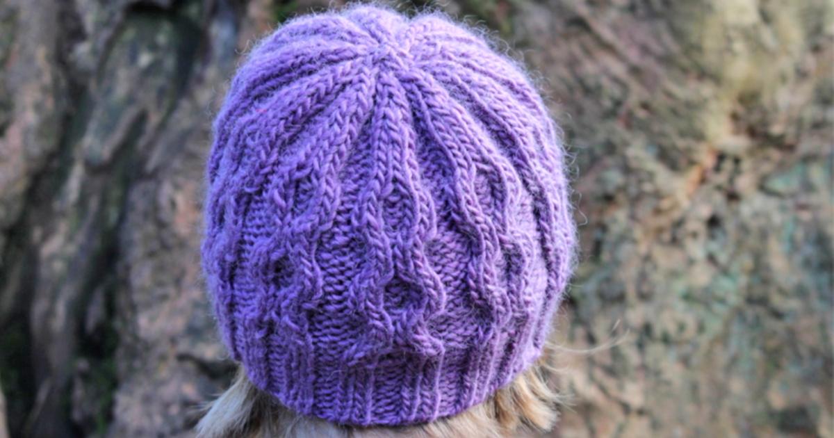 Bubbles beanie hat
