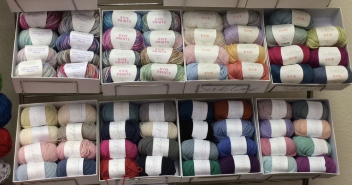 Knitter of the Year visit to Sirdar Yarns