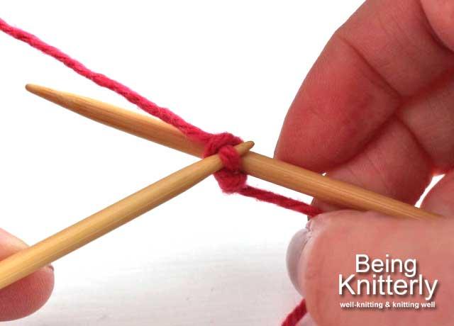 Step 3: Pull new loop through slip knot