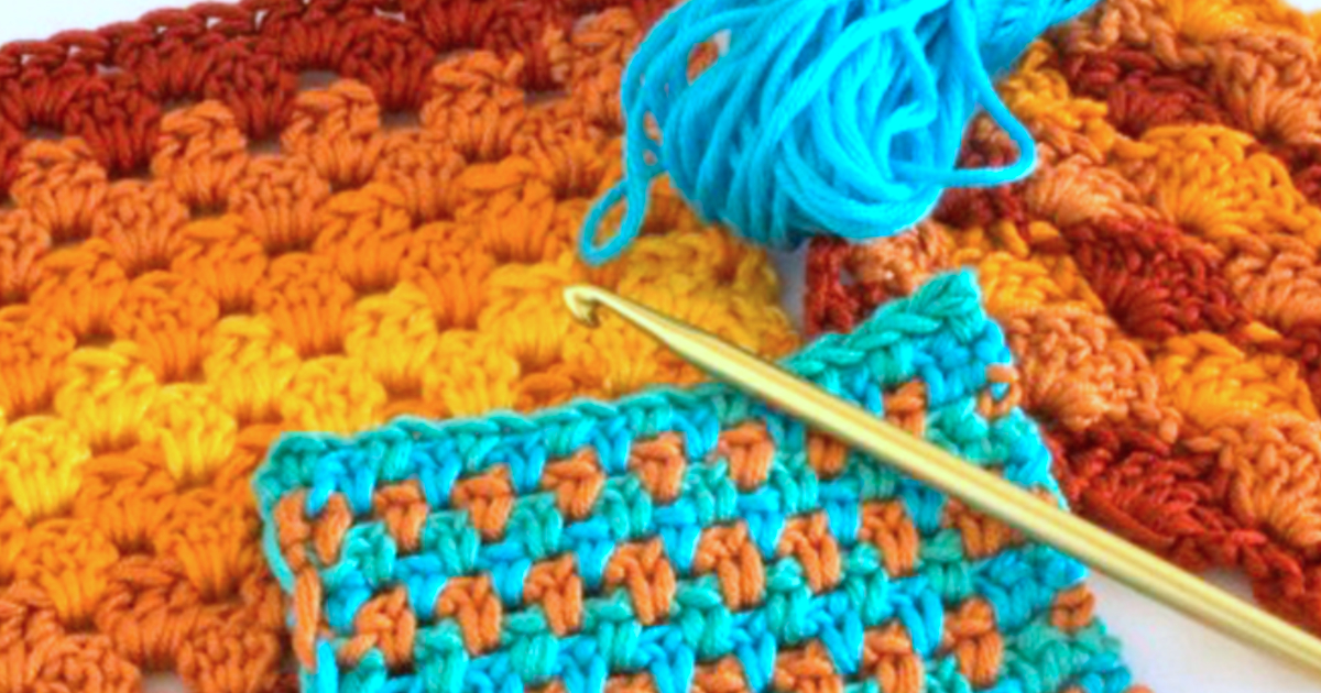 Read more about the article Colourful Crochet Stitches short course