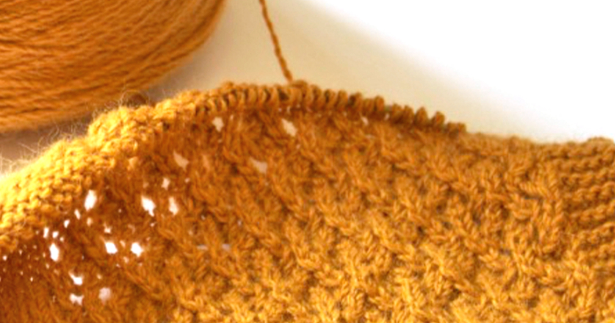 Read more about the article How to Knit Lace short course