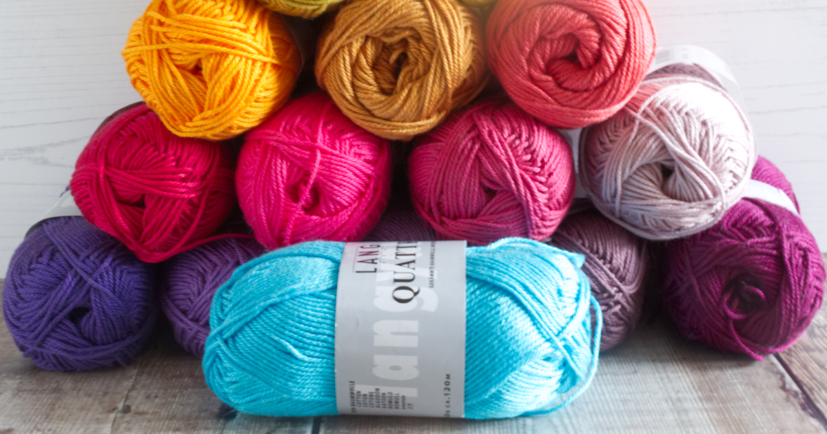 Quattro cotton from Lang Yarns