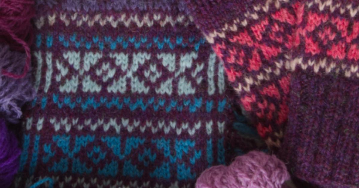 Fair Isle Knitting and Design: an introduction