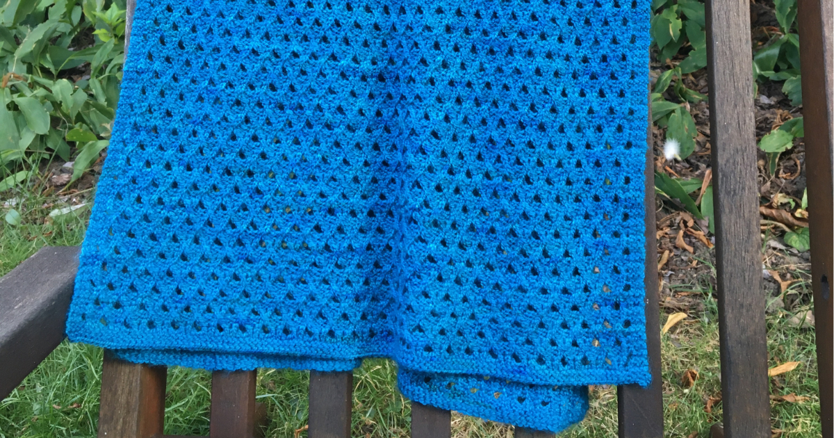 Read more about the article Meltwater shawl