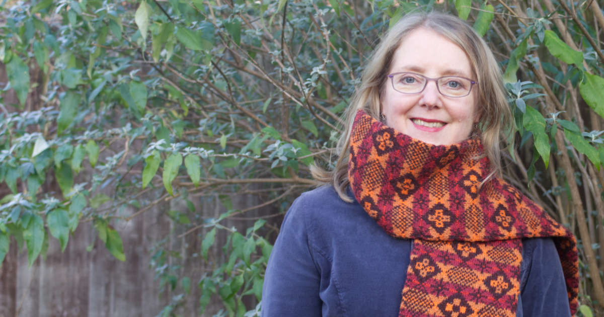 Colours of Autumn scarf