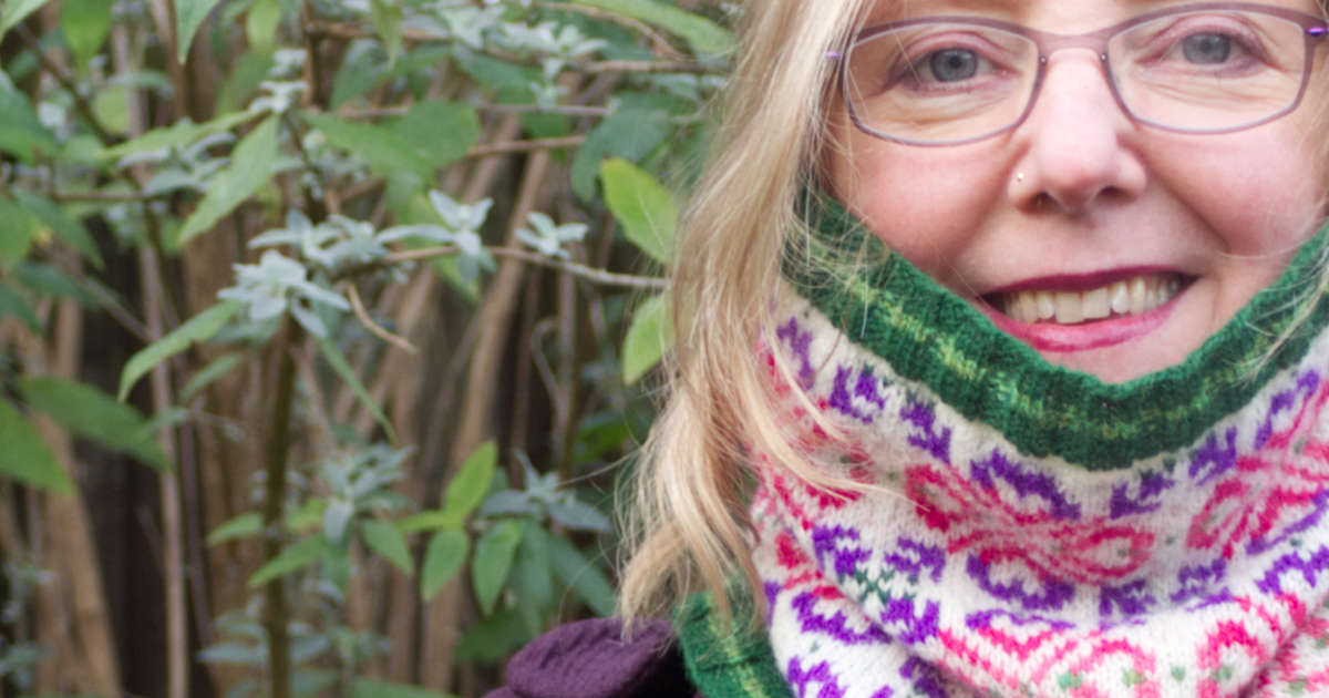 Love of Lupins cowl