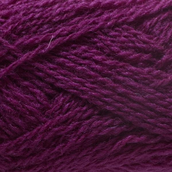 Close-up of a ball of Shetland Spindrift yarn in 0599 Zodiac.