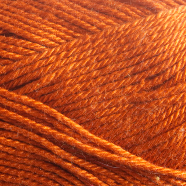 Close up of Quattro cotton yarn in shade 175 Tan.