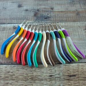 Addi Swing crochet hooks