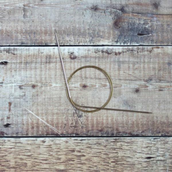 2.5 mm Addi circular knitting needle