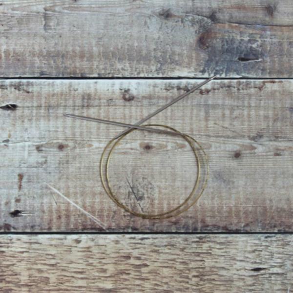 2.75 mm Addi circular knitting needle