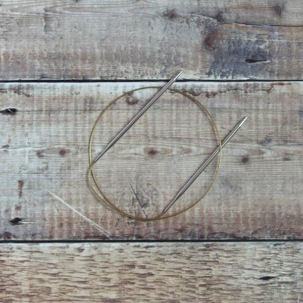 4.5 mm Addi circular knitting needle